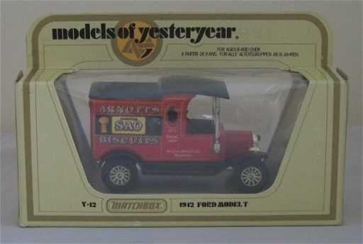 matchbox 1921 model t ford birds custard