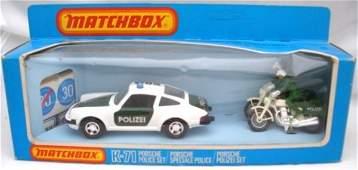 71: Matchbox Superkings K71 Polizei Set