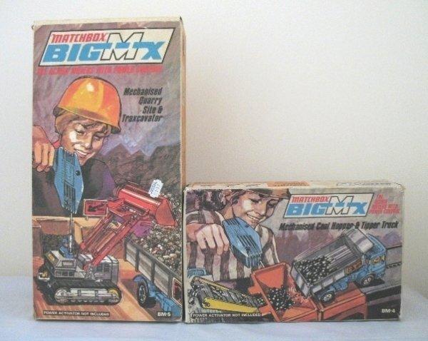 80: Matchbox Big MX BM4 and BM5 Sets