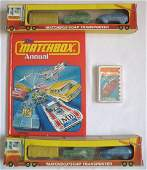 105: Matchbox Annual 1979 + Playing Cards + Soap