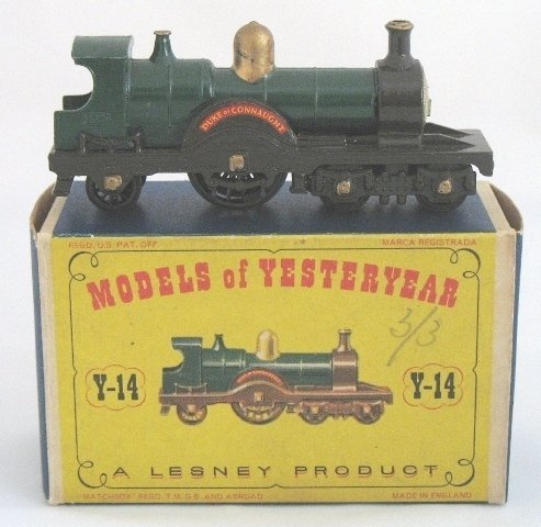 7: Matchbox Yesteryear Y14-1 Duke of Connaught Loco