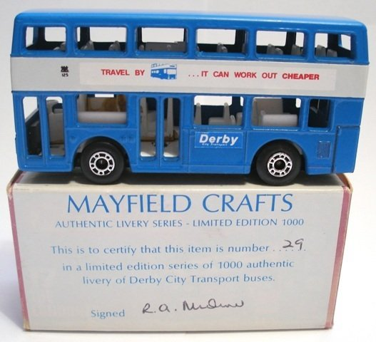 223: 2x Matchbox Superfast London Bus LIMITED EDITIONS - 2