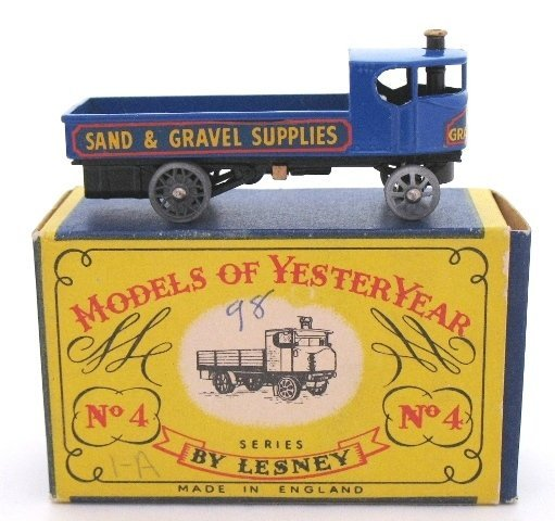 4: Matchbox Yesteryear Y4-1 Sentinel Steam Wagon