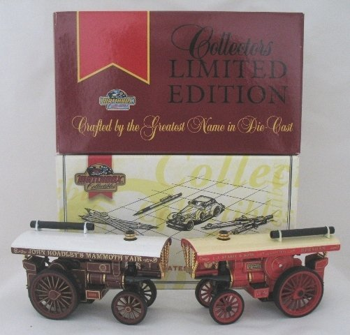 16: 2x Matchbox Yesteryear Fowler Showman Engine