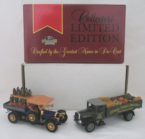 24: 2x Matchbox Yesteryear Limited Edition Trucks