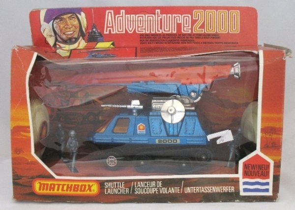 60: Matchbox Adventure 2000 K-2006 Shuttle Launcher
