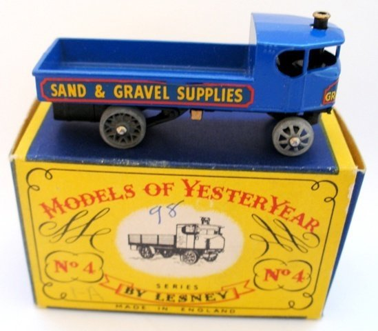 3: Matchbox Yesteryear Y4-1 Sentinel Steam Wagon