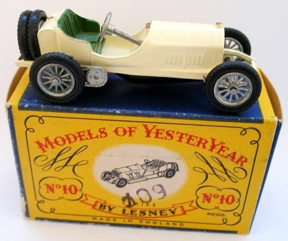 5: Matchbox Yesteryear Y10-1 Grand Prix Mercedes. Off w