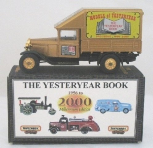 9: Matchbox Yesteryear YY62 Ford Truck Yesteryear Book
