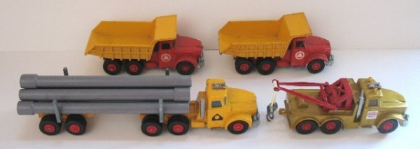 14: 4x Matchbox Kingsize Scammell Trucks.