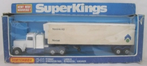 21: Matchbox Superkings K-31 Peterbilt - NORZINK AS