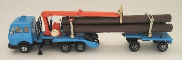 23: Matchbox Superkings K-43 Log Transporter Pre-Produc