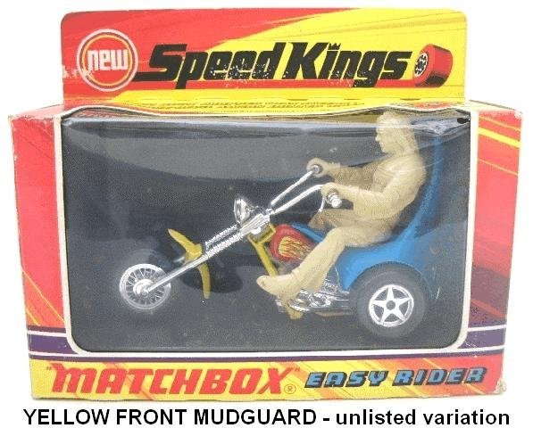 24: Matchbox Speedkings K-47 Easy Rider - Unlisted