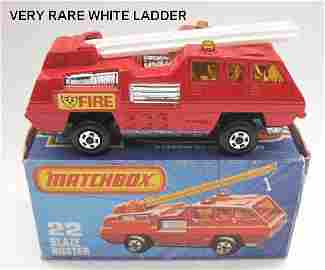 142: Matchbox Superfast 22c Blaze Buster WHITE LADDER
