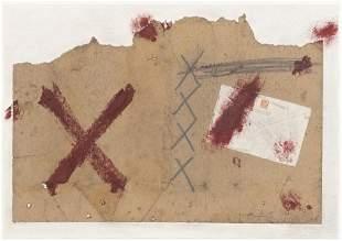 ANTONI TAPIES (1923-2012) - Sans titre, 1970