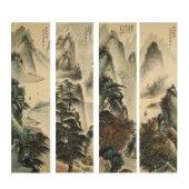 LI XIONGCAI,CHINESE PAINTING AND CALLIGRAPHY