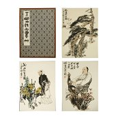 WANG MING,CHINESE PAINTING AND CALLIGRAPHY,ALBUM
