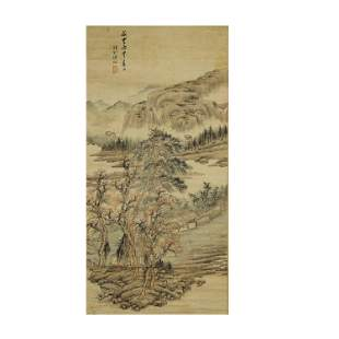 LENG MEI,CHINESE PAINTING AND CALLIGRAPHY