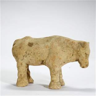 TANG DYNASTY,POTTERY OX