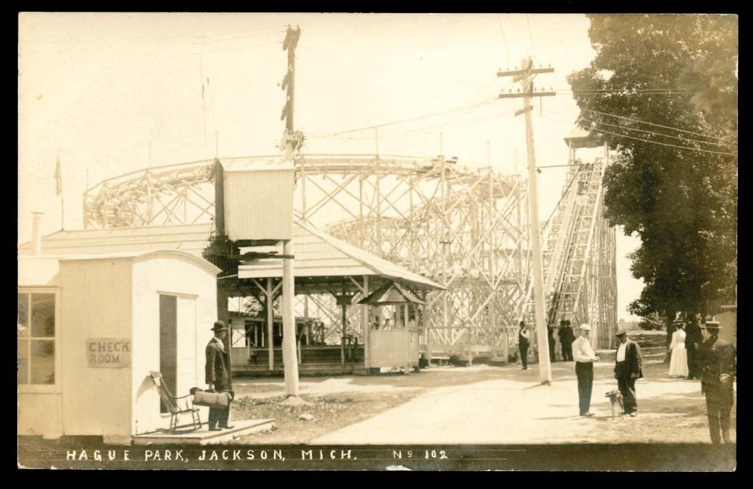 Real Photo - Amusement Parks -
