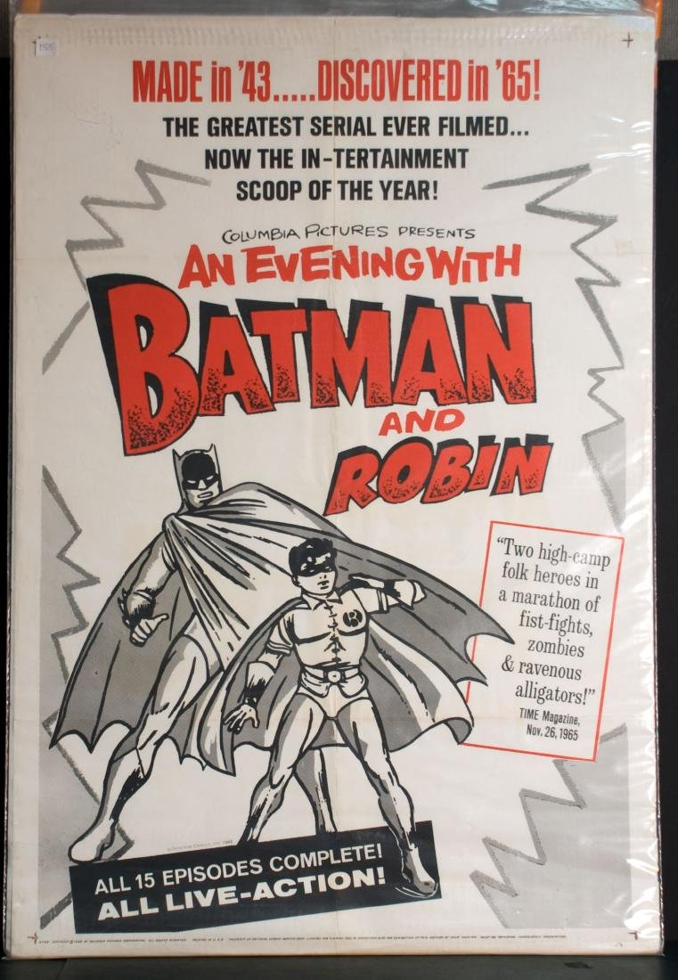 Movie - An Evening With Batman and Robin