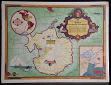Travel - Byrd Antarctic Expedition - Map Of Antarctic