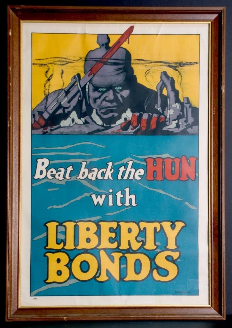 War - Beat back the Hun with Liberty Bonds