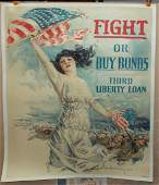 War  Howard Chandler Christy Fight or Buy Bonds
