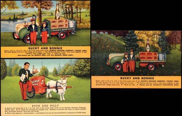 8: Linen Advertising Buckeye Beer