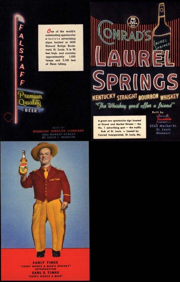11: AdvertisingPostcard,CurtTeichArchives,Beverage