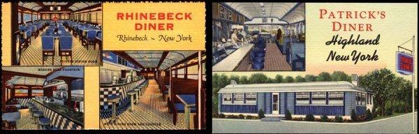 12: AdvertisingPostcard,CurtTeichArchives,Diner