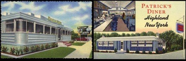 13: AdvertisingPostcard,CurtTeichArchives,Diner
