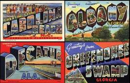 504: Linen Advertising Postcard, Curt Teich Archives