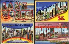 505: Linen Advertising Postcard, Curt Teich Archives