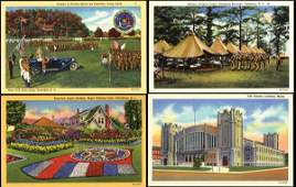 535: Linen Advertising Postcard, Curt Teich Archives