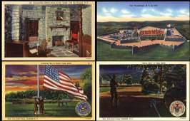 536: Linen Advertising Postcard, Curt Teich Archives