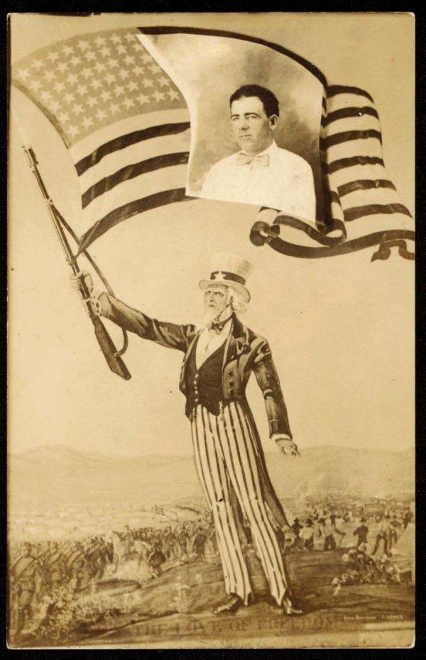 1236: UncleSamWavingAmericanFlag