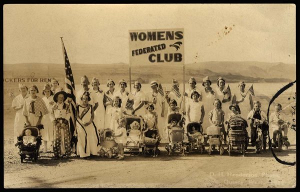 1244: PatrioticWomen'sFederatedClub, Quincy,WA