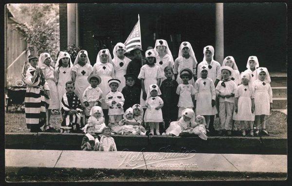 1245: Patriotic,RedCross,Circa1918