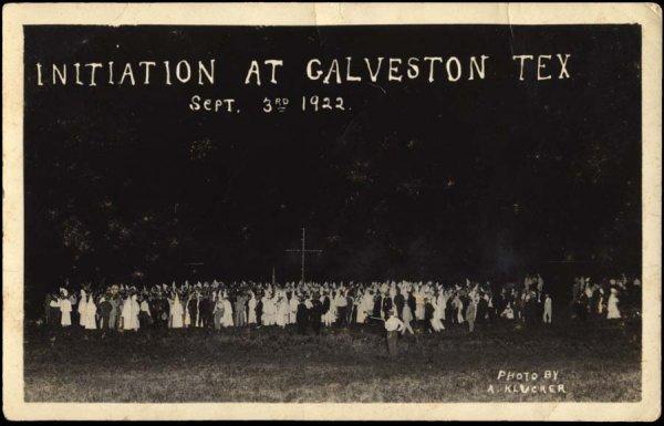 1254: KluKluxKlan(KKK),Galveston,TX