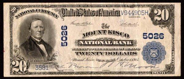 2148: New York   MountKisco,NB,5026   Fr.658$