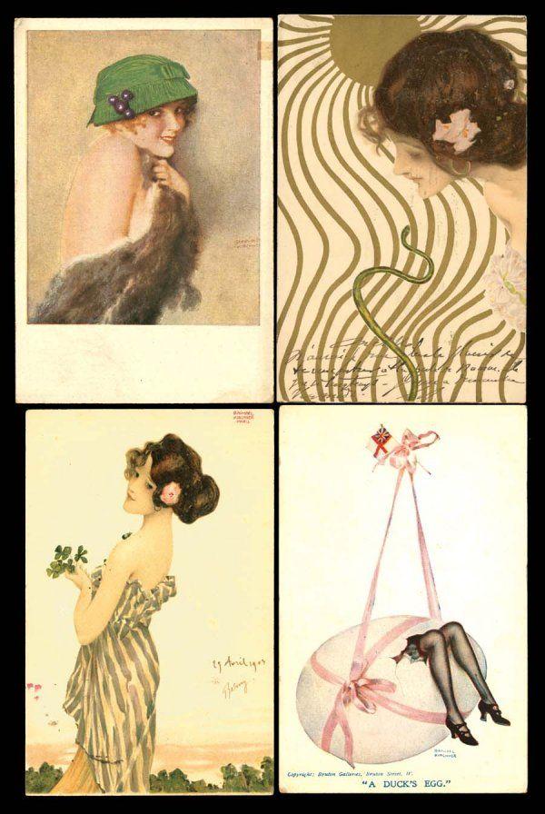 72: Artist Signed – Illustrators Kirchner, Raphael