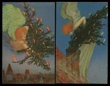 77: Artist Signed – Illustrators Kirchner, Raphael