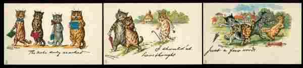 195: Artist Signed – Illustrators Wain, Louis