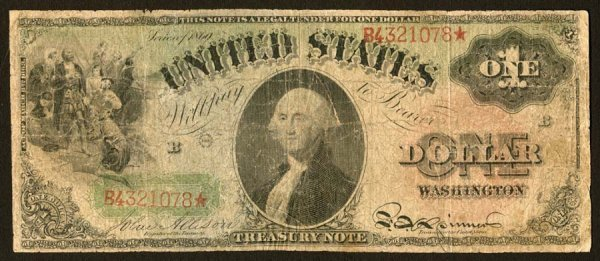 8: Legal Tender     Fr. 18    $1    1869     This Rainb
