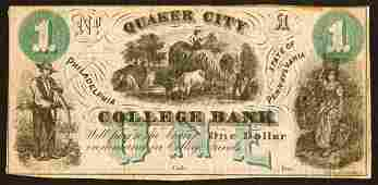 1506 College Currency    Pennsylvania    1Quake