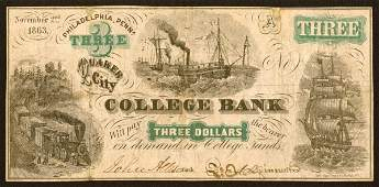 1507 College Currency    Pennsylvania    3Quake