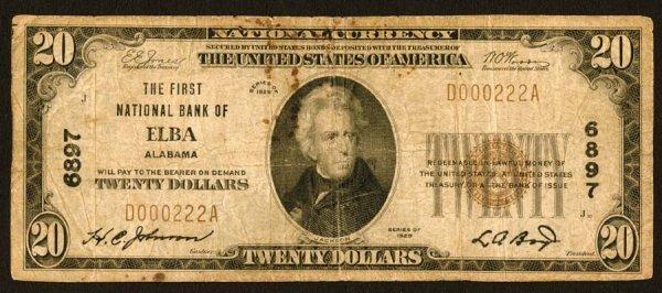 1608: Alabama    Elba,FirstNB,6897    Fr.1802-1