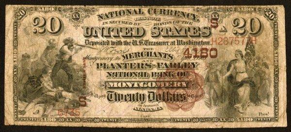 1610: Alabama    Montgomery,Merchants&Planters-Farl