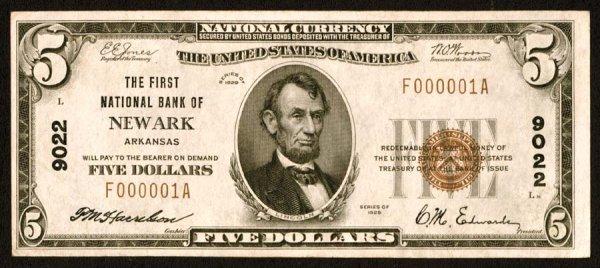 1620: Arkansas    Newark,FirstNB,9022    Fr.1800-